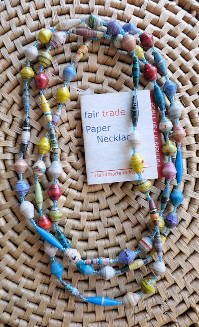 african paper beads